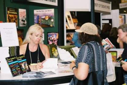 At the Toronto International Book Fair 2005